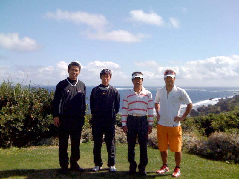 今日のお客様 - 吉野海岸の隣にあるゴルフ場「オーシャン ...