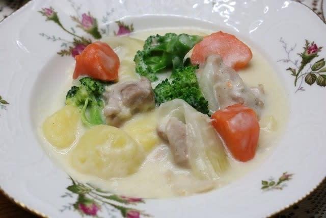 レシピ ホワイト シチュー