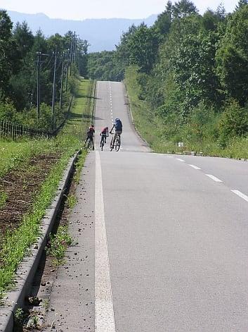 八ヶ岳 自転車