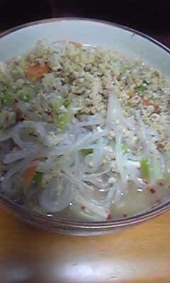 『白滝担々麺』