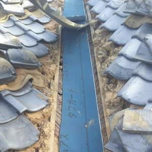 谷樋の補修工事1