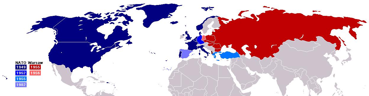 ワルシャワ条約機構とNATO