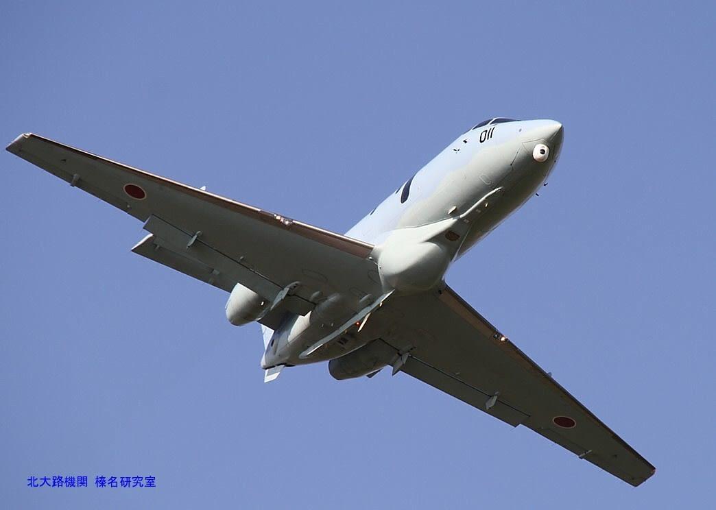 Images of F-4EJ改福江島沖墜落...