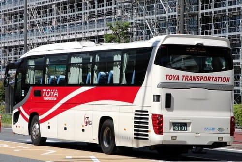 関東自動車(東野交通)の8101号車 - バスターミナルなブログ