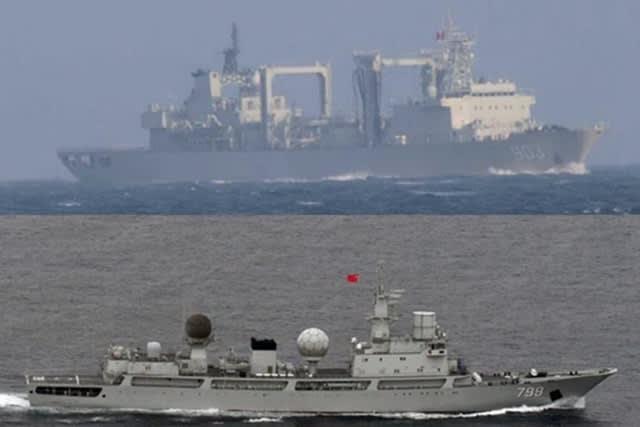 中国無人機,中国無人機沖縄本島宮古島通過,防衛省,中国軍無人機TB001,中国艦隊,,