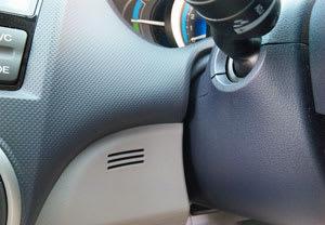インサイトの車内温度/湿度感知部