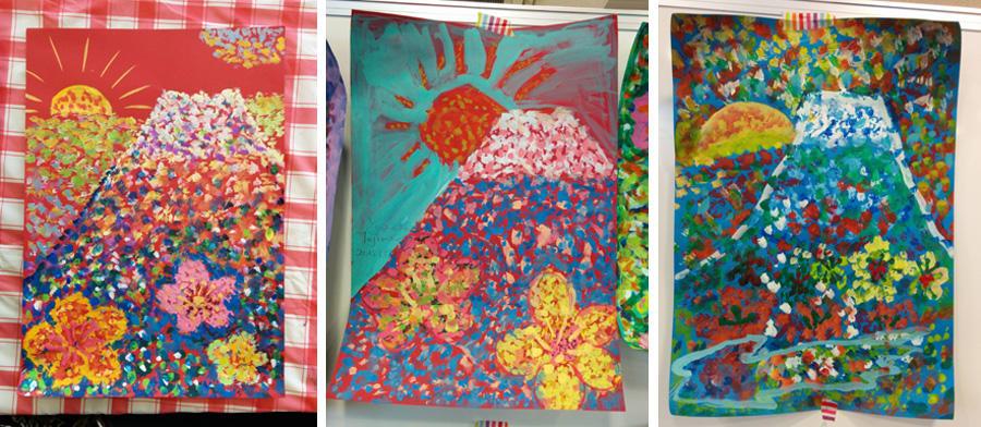 土日:点描 - 若葉台こども絵画教室 アートなかま