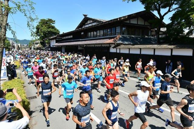 昨年(第45回)関川マラソン風景
