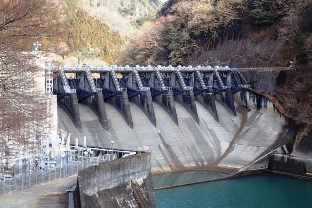 笠置ダム - ダムの訪問記