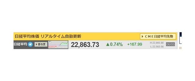平均 株価 リアル 日経
