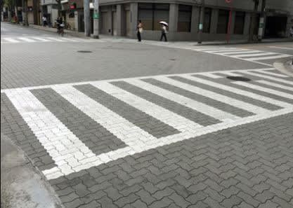 歩道 横断