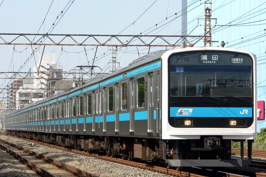 JR東日本 209系 浦和電車区 ウラ1~5編成 (全編成引退済み ...