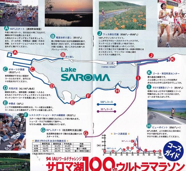 2021 サロマ 湖 ウルトラ マラソン