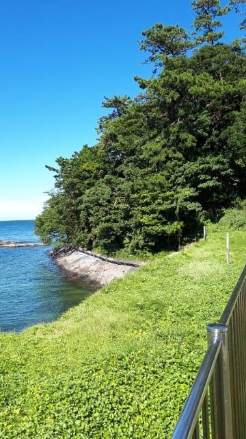 海岸 温泉 馬堀