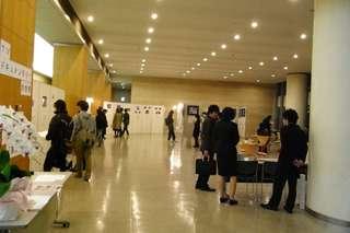08年度展覧会9日目の様子の写真、その2