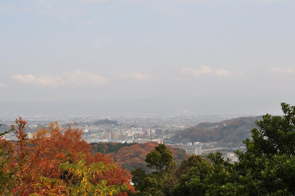 三室山山頂からの眺望