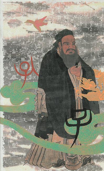 孔子の肖像画