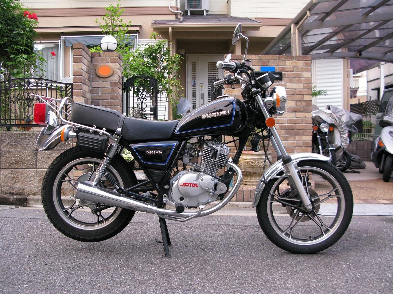 gt125 gn125该选谁 - 摩托车论坛 - 济南铃木 - 摩