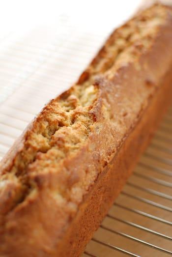 メープルナッツバナナケーキ