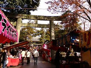 京都、天神さんに来ています。