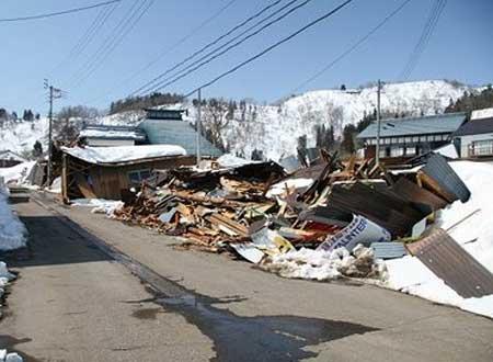 県北部地震(震度6強)から一年 - ブログに遊ぶ