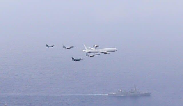 パシフィッククラウン21,PACIFICCROWN21,中国潜水艦情報収集,中国潜水艦接続水域潜航,航空自衛隊,F35A,インド太平洋地域,F15,ジェット戦闘機,