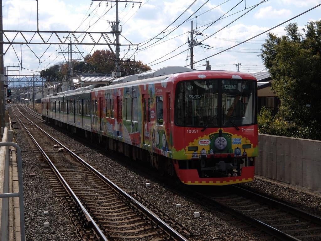 京阪10000系機関車パーシー号