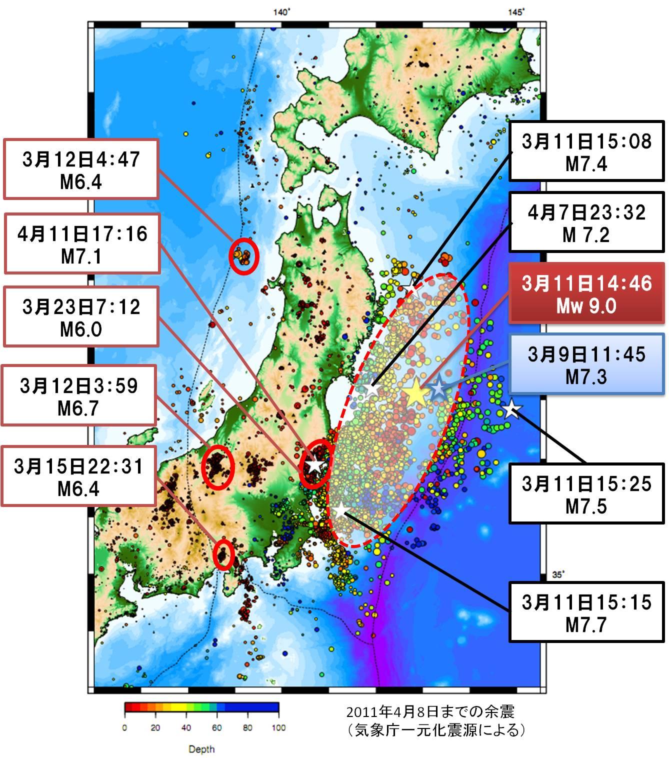 前震の存在 - J'sてんてんてまり