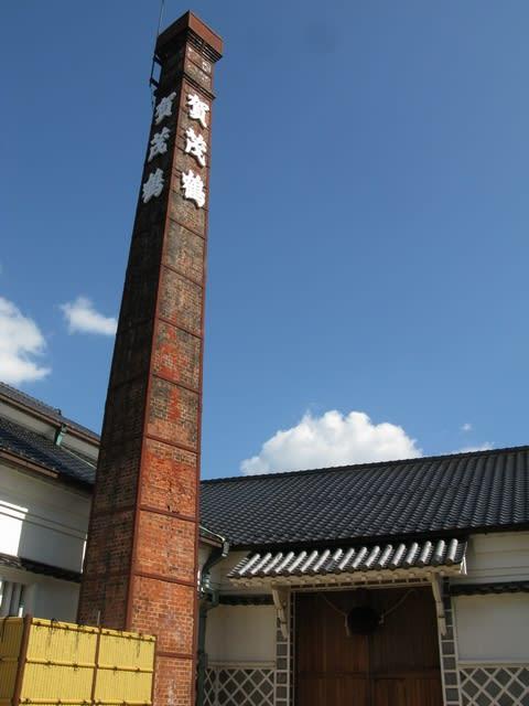 賀茂の鶴煙突