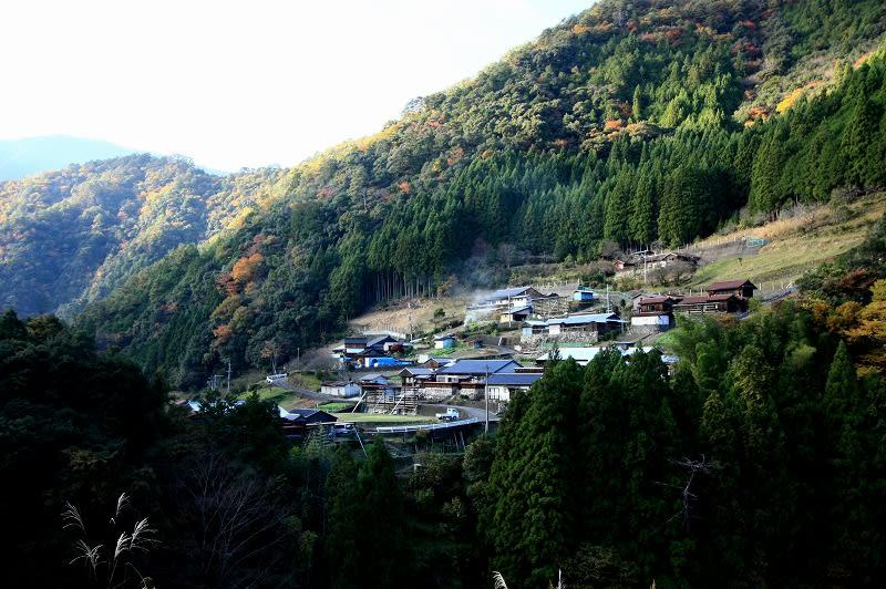 奈良県十津川村内原集落 - 愛し...