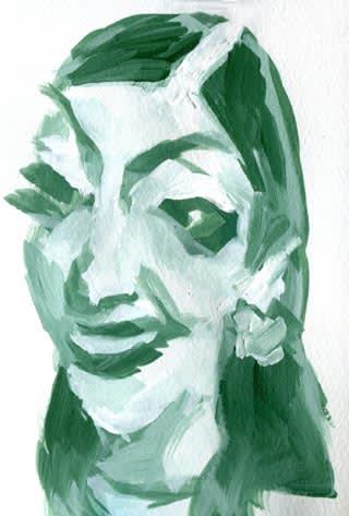 アンミカ似顔絵画像