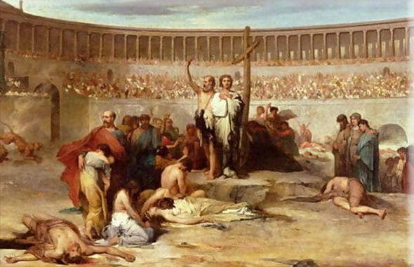 ローマ教会最初の聖なる殉教者た...