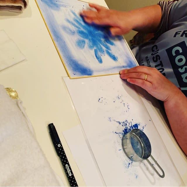 満月のヒーリング曼荼羅アート イベント