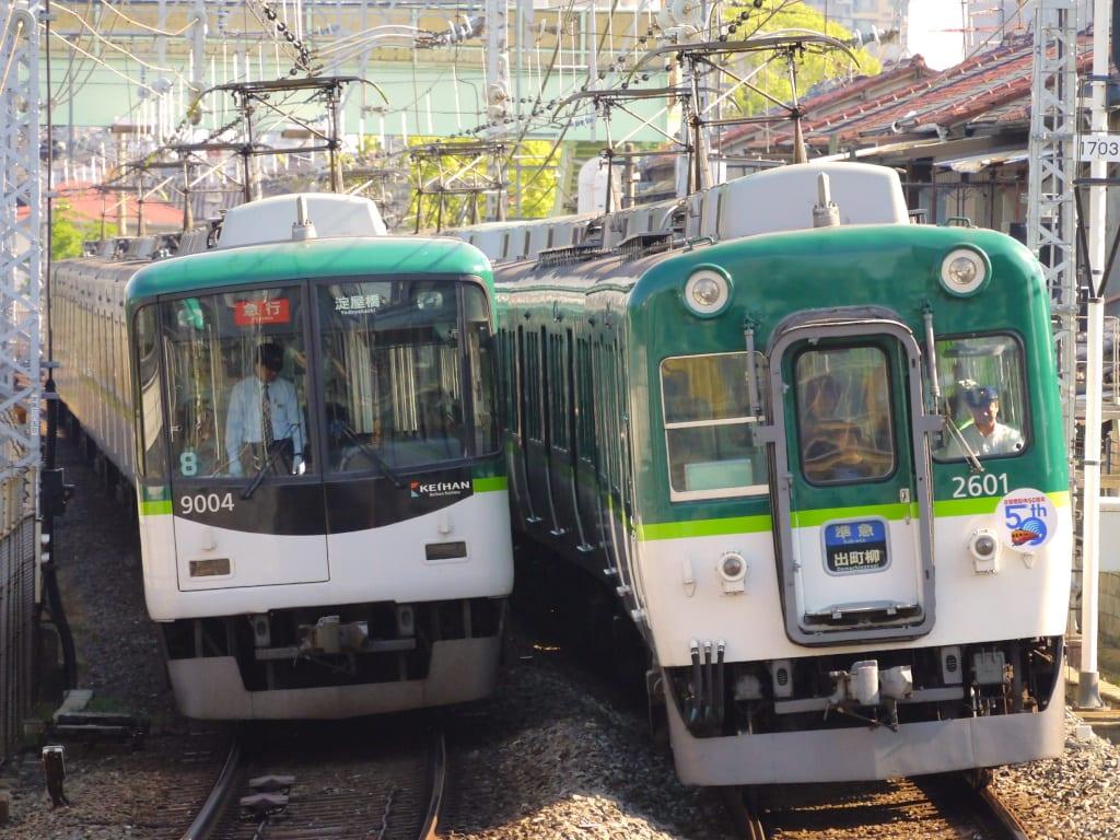 京阪2600系と9000系