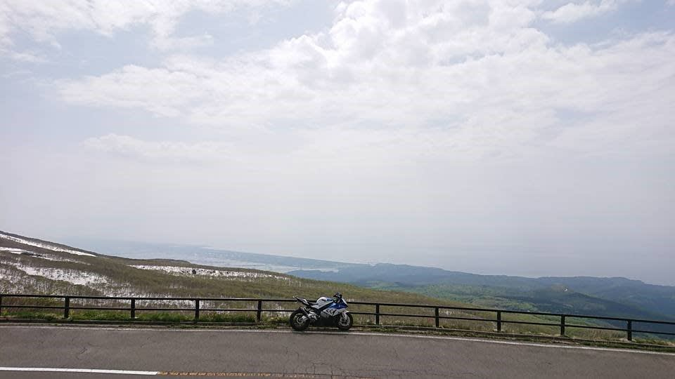 ライン 鳥海 山 ブルー