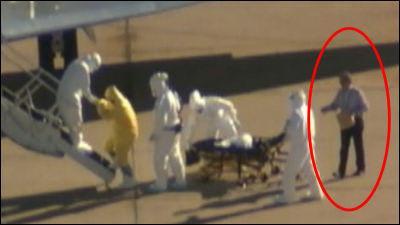 アメリカがエボラの感染源のシエ...