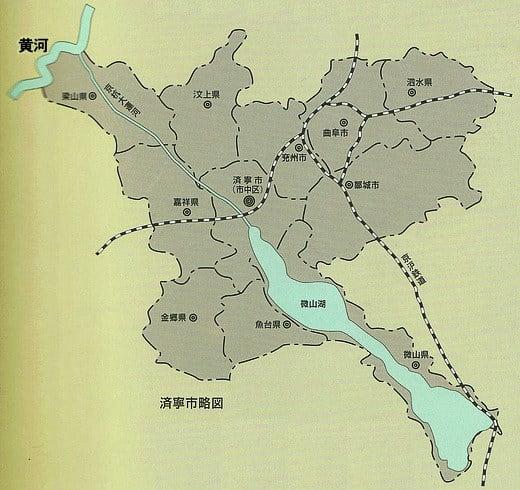 済寧市略図