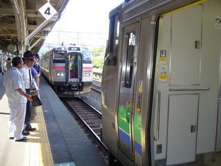 電車と気動車の連結