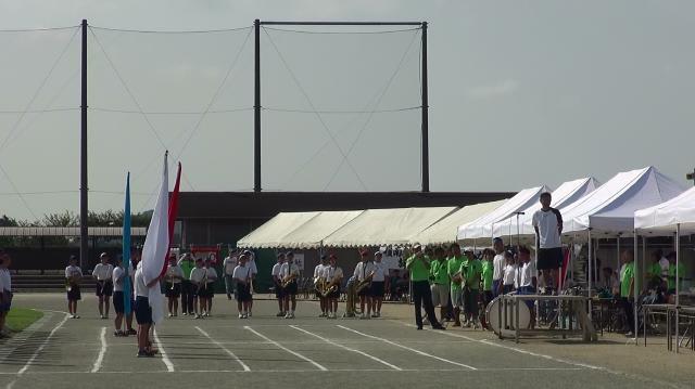 南房総市立嶺南中学校第一回体育...