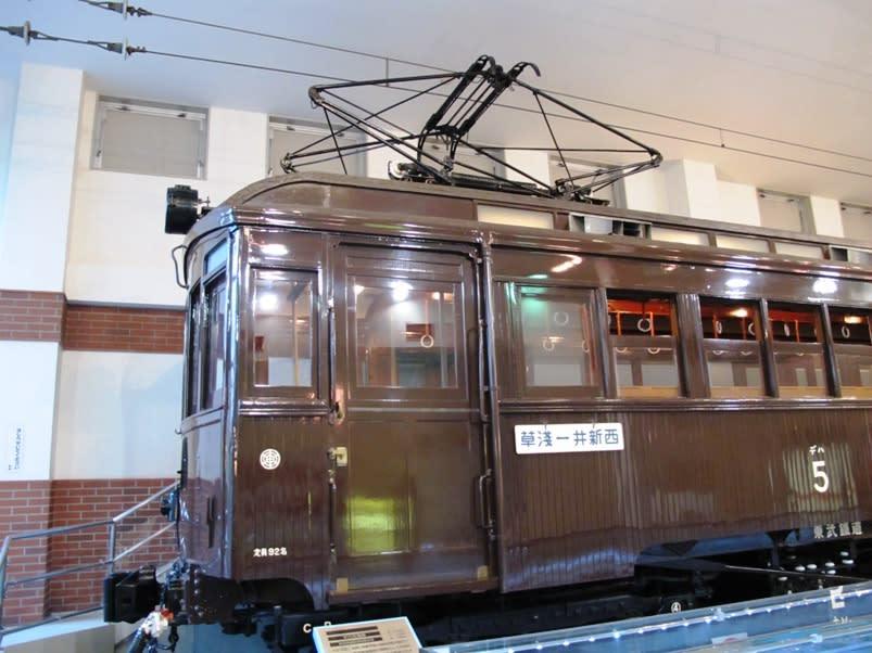 東武デハ1形電車大正13年系 - 観光列車から! 日々利用の乗り物まで