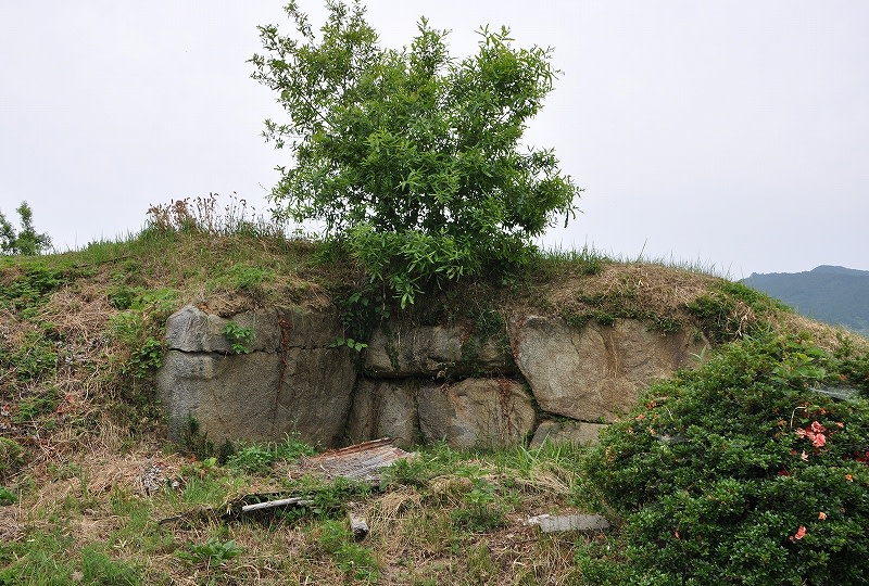 奥壁と右側壁