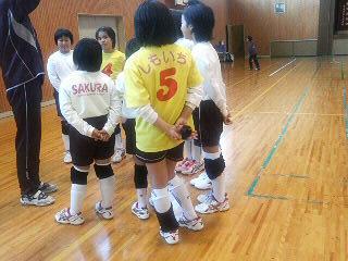 S A K U R A (ジュニアバレーボールクラブ)