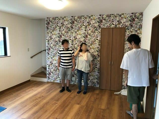 岡山市の新築現場のお引き渡しです。 | 岡山市で新築一戸建てを建てるならサンブランドハウス