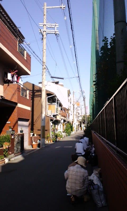 秋晴れの大阪市野田界隈スケッチ②