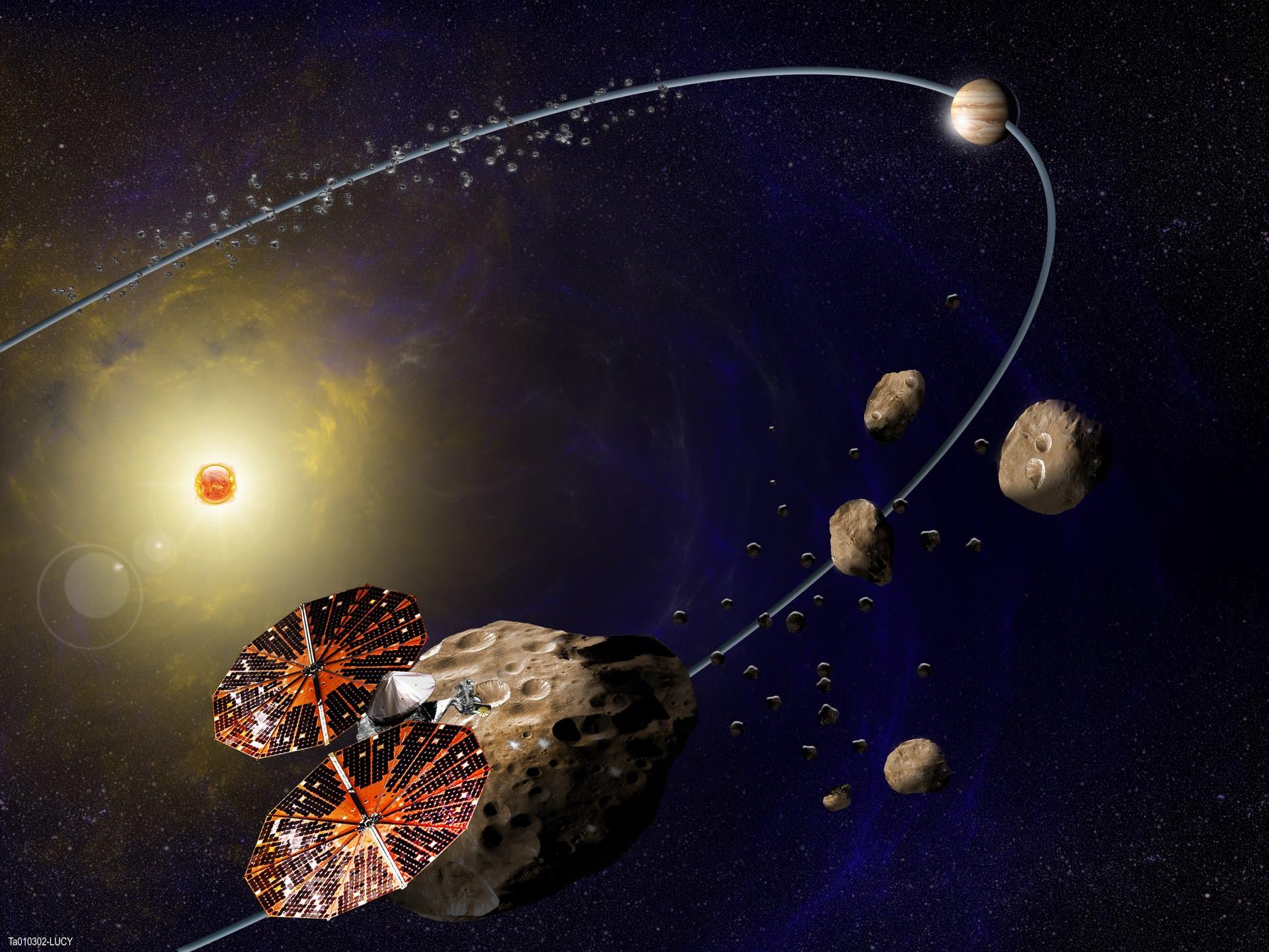 Nasaの新小惑星探査ミッション Lucy と Psyche 宇宙のはなしと