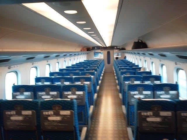 新幹線 ガラガラ