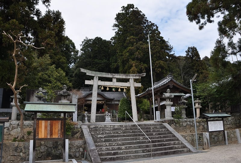 大屋戸杉谷神社