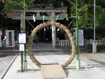 茅の輪・武田神社