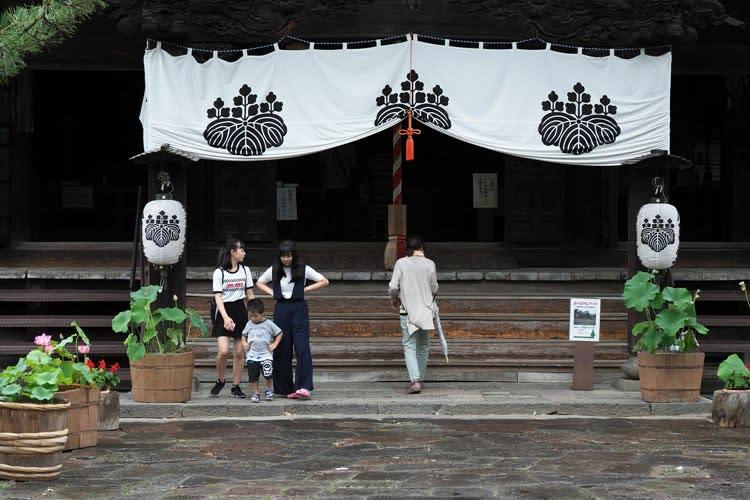 信濃国分寺本堂
