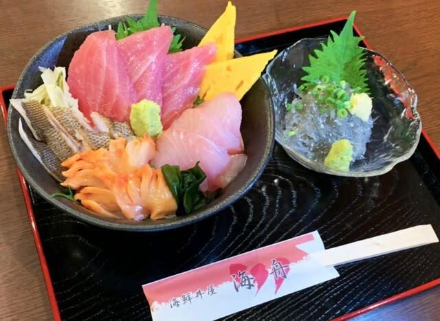 地魚三種丼